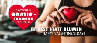 2 Wochen Gratis-Training zum Valentinstag